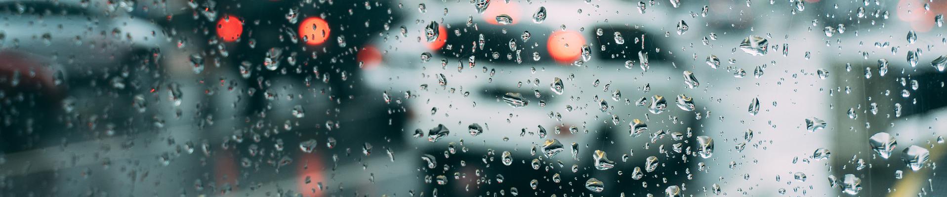 Schlechtes Wetter meiden..